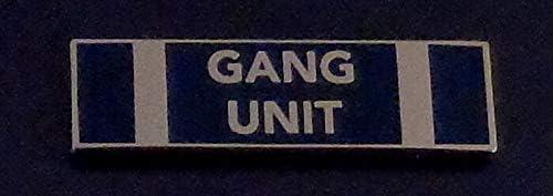 by SFI Gang Unit Silver on Commendation Max 80% OFF San Jose Mall Blue P Award Bar Uniform