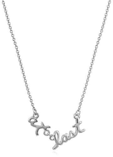 Kate Spade New York At Last Silver Pendant Necklace, 17