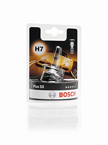 Bosch Lampe de phare Plus 50 H7 12V 55W (Ampoule x1)