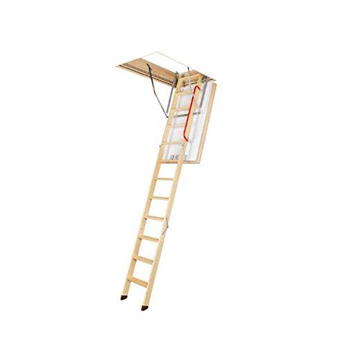 Echelle escamotable bois - Ouverture du plafond de 70 x 120cm