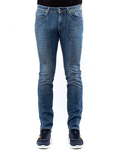 Jeckerson Jeans Elasticizzato con Toppa in Tinta (29)