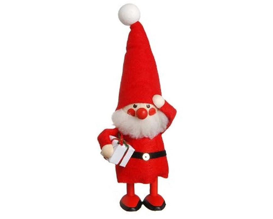 つま先こだわり検索NORDIKA nisse ノルディカ ニッセ クリスマス 木製人形 (プレゼントを持ったサンタ / レッド / NRD120063)