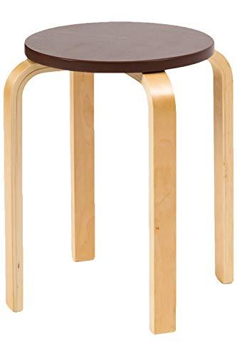 システムK スツール スタッキングチェア 北欧インテリア家具 木製 ブラウン(スツール) チェア