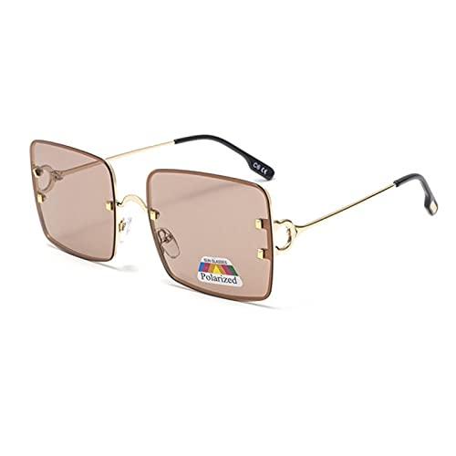 UKKD Gafas De Sol Mujer Gafas De Sol De Las Mujeres Polarizadas De Recubrimiento De Protección Uv400 Mismos Gafas De Conducción De Moda