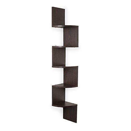 Danya B Decorative Floating Shelf Units, Rustic Shelf Organi...