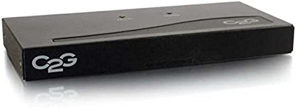 C2G 29550 2-Port UXGA Monitor Splitter/Extender (Male Input) TAA Compliant