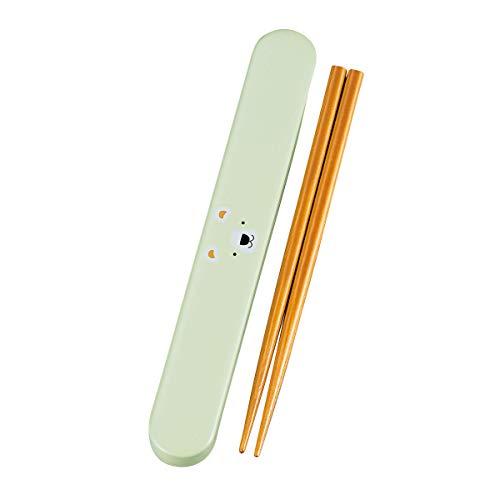 箸箱 スライド 子供 おしゃれ 18.0 スライド箸箱セット(くま)