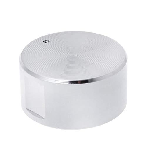 QINGRUI Kitchen Stove Parts 4PCS gaz en métal Poêle Bouton Poêle à gaz Switch brûleur Accessoires de Cuisine pièces de Rechange Rotary Switch Boutons Ronds Easy to Install