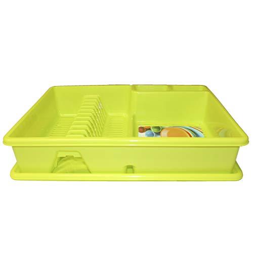 Plastic Forte Escurreplatos verde 48 x 38 x 9 cm
