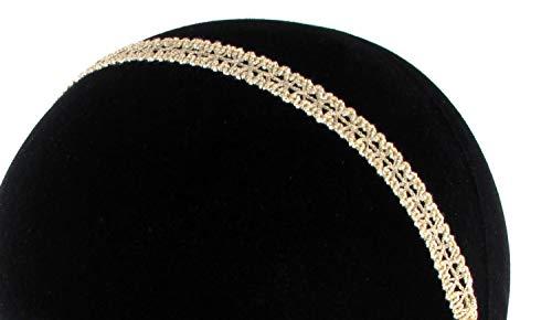 Les Dissonances Romy : Headband Dentelle doré