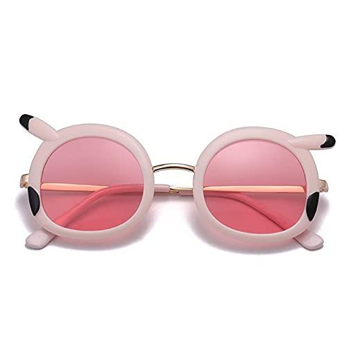 YFQX, Gafas de Sol para niños, adecuadas para niños y niñas de 4 a 7 años de Edad, Gafas de Sol para niños al Aire Libre (Dos Piezas)