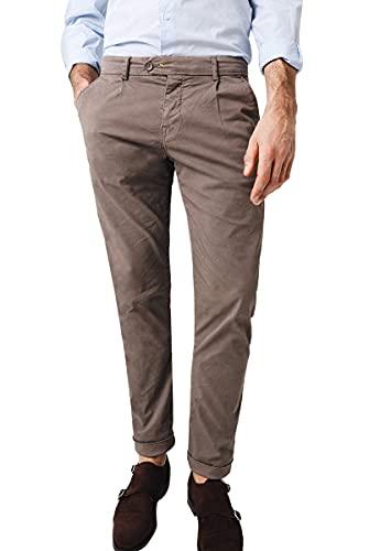Scalpers PAPIRO Pants - Pantalón para Hombre, Talla 42, Color Topo