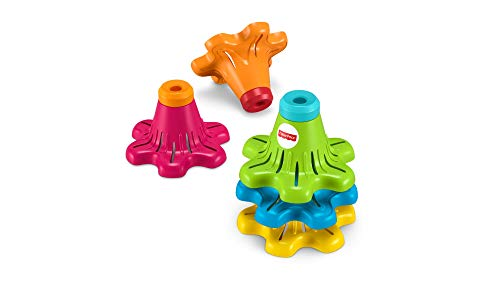 Empilhadores Giratórios, Fisher Price, Mattel