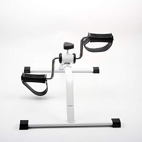 Nice-Doormats Mini bicicleta, equipo de entrenamiento de rehabilitación de miembros superiores e inferiores, mini bicicleta estática, equipo de ejercicio para brazos y piernas