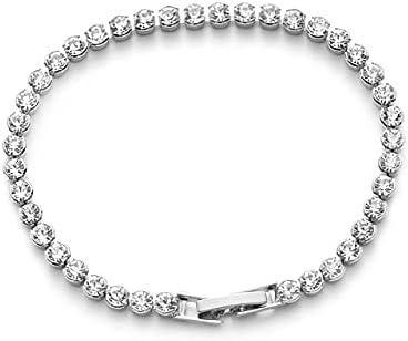 KASMOM 1 Discount is Portland Mall also underway PC Fashion Women Austria Shiny Charm Crystal Bracelets