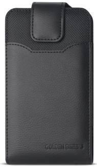 Golden Sheeps Carrying Pouch Compatible for Nokia 7.1 6.1 Plus   5.1 Plus   3.1 6 (2018) Vertical Leather Belt Clip Pouch Case Cover Holster with Magnetic Closure(FIT with Thin Cover)