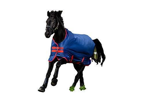 Horseware Amigo Mio Turnout lite Dark Blue red Gr. wählbar (145)
