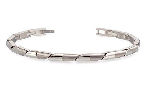 Boccia Damen-Armband Titan mattiert 20 cm - 03008-01