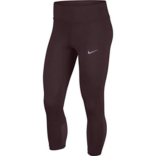 Nike Womens Running Workout Athletic Leggings Black XS
