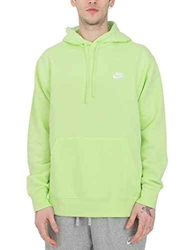 Nike Men's Pull Over Hoodie (Light Liquid Lime, s)