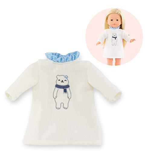 Corolle- Robe Hiver Polaire pour poupée Vêtement, 211330, Bleu