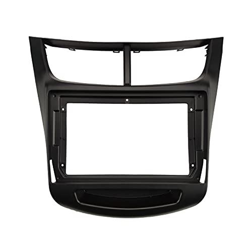 Yuanyuan 1DIN 2DIN Coche Marco de DVD Audio Adaptador de Audio Dash Kits Facia Panel 9inch Fit para Chevrolet Sail 2015-2020 Doble Radio Player (Color Name : XYH RZ GM01)