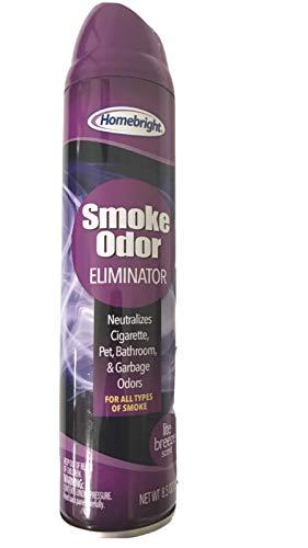 Homebright Smoke Odor Eliminator, Lite Breeze Scent 8.5 oz.