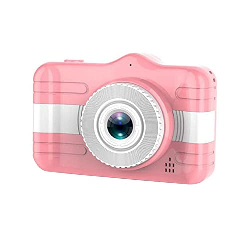yaohuishanghang Cámara para niños X600 Cámara Infantil Mini Digital Pantalla 3.5 Pulgadas HD 1080p Cámara de Video Camcorder niño niños Juguete Cámara para niños para niños. (Color : Pink)