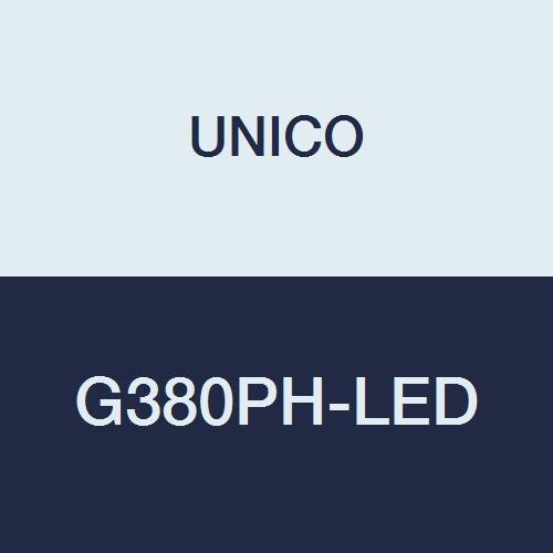 UNICO G380PH-LED Microscope, Binocular, 10X Eyepiece, Achromat, Mechanical Stage, NA 1.25 Condenser, Diaphragm, LED Illumination, 3W LED, Coaxial and Fine Focusing