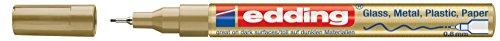 Edding 4-780-9-053 Paint Marker Pens Fine Tip Gold