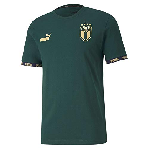 PUMA Italia Football Culture T-Shirt (XL, Pine)