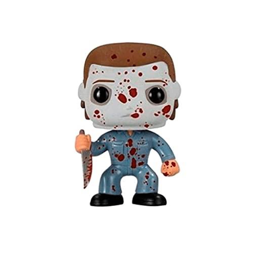 MCC Studio Funko Pop Movie : Halloween - Michael Myers (Bloody Exclusive) 3.9inch Vinyl Gift for Boys Horror Movie Movie Fans Bobblehaed