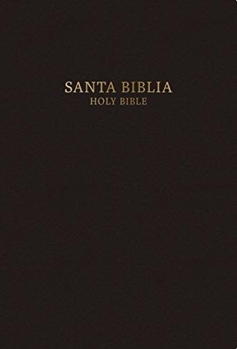 RVR 1960/KJV Biblia Bilingüe Tamaño Personal, negro tapa dura (Spanish Edition)
