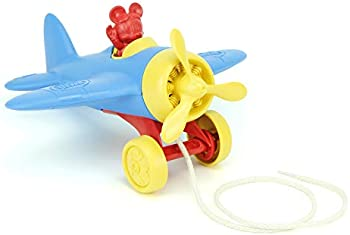 Green Toys Disney Baby Exclusive Mickey Mouse Airplane Pull Toy