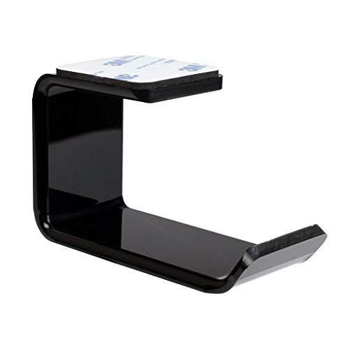 Gankmachine 3M Adesivo Acrilico Cuffie Staffa di Supporto sotto la scrivania Parete Porta Cuffia Auricolare Gancio Sticky Display Stand