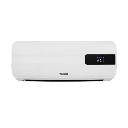 Tristar Termoventilatore Riscaldante in Ceramica KA-5070, 2000 watt, Telecomando, Display LED Digitale