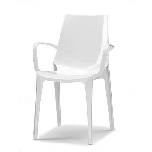 Chaise VANITY design avec accoudoirs par Scab