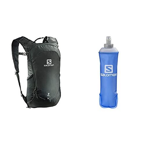 SALOMON, Zaino Multifunzionale Trailbalzer Da 10 L, 3D Comfort E Sistema Di Idratazione & Soft Flask 500 Ml Borraccia Trail Running Escursionismo