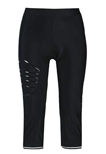 ENDURANCE Jayne W 3/4 Pantalones de ciclismo XQL con acolchado extra suave, Primavera-verano 20., Slim, Mujer, color negro, tamaño 46