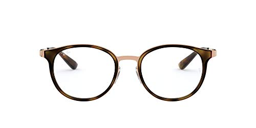 Ray-Ban Damen 0rx 6372m 2732 50 Brillengestell, Braun (Brushed Light Brown)