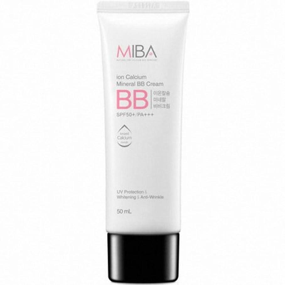 葉っぱおしゃれなパドルMINERALBIO (ミネラルバイオ) ミバ イオン カルシウム ミネラル ビビクリーム / MIBA Ion Calcium Mineral BB Cream (50ml) [並行輸入品]