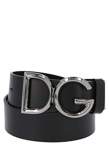 Luxury Fashion   Dolce E Gabbana Uomo BC4369AV4798E912 Nero Cintura  
