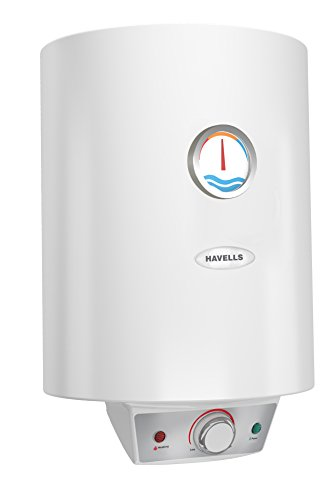 Havells Monza EC 5S 15-Litre Storage Water Heater with Flexi Pipe (white)