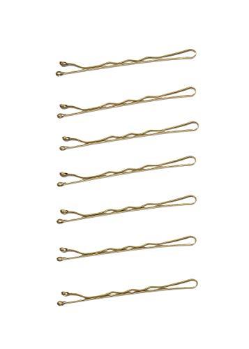 SPINNS ヘアピン 7P/5cm レディース ヘアアクセサリー ヘアアレンジ ヘアクリップ カジュアル ガーリー プチプラ 安い ゴールド シルバー スピンズ spinns ゴールド -