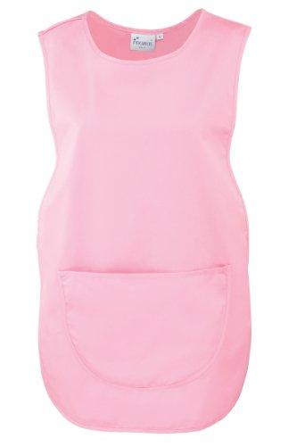 Premier Überwurfschürze/Kasack/Tabart mit Tasche (L, Pink/Rosa)