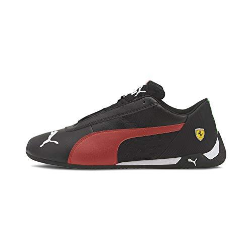PUMA Unisex 33993704 Ferrari Sf R-Cat Turnschuhe, Negro/Rosado, 42 EU