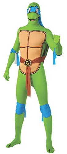 Rubie 's Offizielles Raphael-Kostüm, Ninja Turtles, Ganzkörper-Anzug, für Erwachsene, Groß