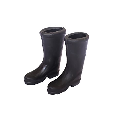 1/12 Dollhouse Furniture Miniature Rubber Rain Boots Home Garden Yard Accs