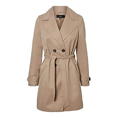 Vero Moda Vmbrushedkatrine 3/4 Jacket Boos Abrigo de Mezcla de Lana a buen precio