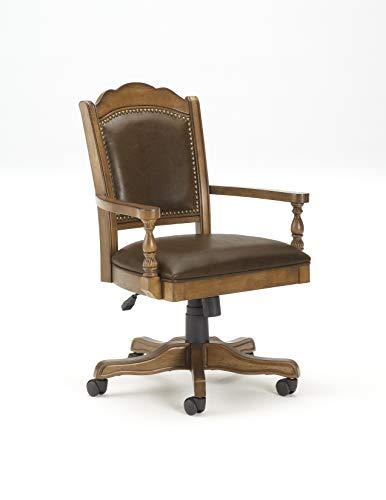 Hillsdale Furniture Nassau Game Chair, Brown